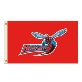 3 ft x 5 ft Flag-Delaware State Hornets w/Hornet