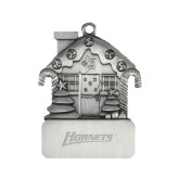 Pewter House Ornament-Hornets Engraved