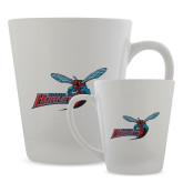 12oz Ceramic Latte Mug-Delaware State Hornets w/Hornet