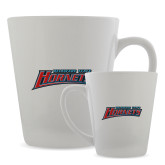 Full Color Latte Mug 12oz-Delaware State Hornets