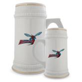 Full Color Decorative Ceramic Mug 22oz-Delaware State Hornets w/Hornet
