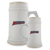 Full Color Decorative Ceramic Mug 22oz-Delaware State Hornets