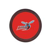 Round Coaster Frame w/Insert-Delaware State Hornets w/Hornet