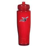 Spectrum Red Sport Bottle 28oz-Delaware State Hornets w/Hornet