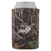 Collapsible Mossy Oak Camo Can Holder-Delaware State Hornets w/Hornet