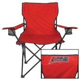 Deluxe Red Captains Chair-Delaware State Hornets