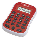 Red Large Calculator-Delaware State Hornets