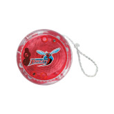 Light Up Red YoYo-Delaware State Hornets w/Hornet
