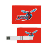 Card USB Drive 4GB-Delaware State Hornets w/Hornet
