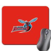 Full Color Mousepad-Delaware State Hornets w/Hornet