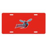 License Plate-Delaware State Hornets w/Hornet