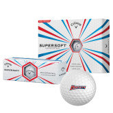 Callaway Supersoft Golf Balls 12/pkg-Hornets