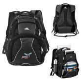 High Sierra Swerve Compu Backpack-Delaware State Hornets w/Hornet