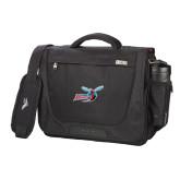 High Sierra Black Upload Business Compu Case-Delaware State Hornets w/Hornet
