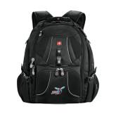 Wenger Swiss Army Mega Black Compu Backpack-Delaware State Hornets w/Hornet