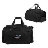 Challenger Team Black Sport Bag-Delaware State Hornets w/Hornet