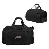 Challenger Team Black Sport Bag-Delaware State Hornets
