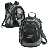 High Sierra Black Fat Boy Day Pack-Delaware State Hornets w/Hornet