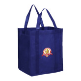 Non Woven Navy Grocery Tote-Alumni Association