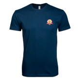 Next Level SoftStyle Navy T Shirt-Alumni Association