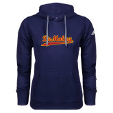 Adidas Climawarm Navy Team Issue Hoodie-Demolay Script