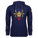Adidas Climawarm Navy Team Issue Hoodie-Emblem with Stars