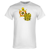 White T Shirt-Scottish Rite DeMolay