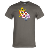 Charcoal T Shirt-York Rite DeMolay