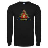 Black Long Sleeve T Shirt-Grand Master