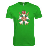 Next Level SoftStyle Kelly Green T Shirt-Knighthood