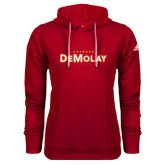 Adidas Climawarm Red Team Issue Hoodie-Congress