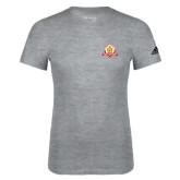 Adidas Sport Grey Logo T Shirt-Alumni Association
