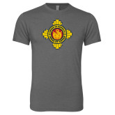 Next Level Premium Heather Tri Blend Crew-Cross of Honor