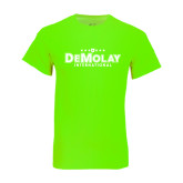 Neon Green T Shirt-Official Logo