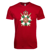 Next Level SoftStyle Cardinal T Shirt-Knighthood