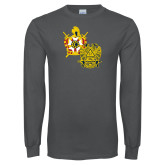 Charcoal Long Sleeve T Shirt-Scottish Rite DeMolay