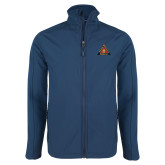 Navy Softshell Jacket-Grand Master
