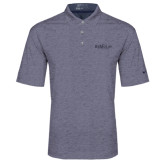 Nike Golf Dri Fit Navy Heather Polo-Official Logo