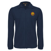 Fleece Full Zip Navy Jacket-Chevalier