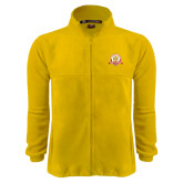 Fleece Full Zip Gold Jacket-Alumni Association