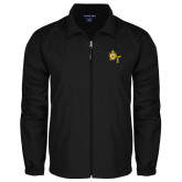 Full Zip Black Wind Jacket-Shriners DeMolay