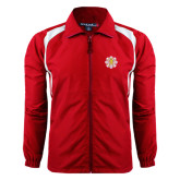 Full Zip Red Wind Jacket-Supreme Council