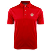 Red Dry Mesh Polo-Supreme Council