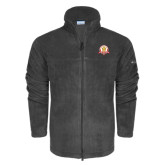 Columbia Full Zip Charcoal Fleece Jacket-Alumni Association