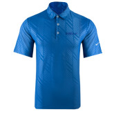 Nike Dri Fit Royal Embossed Polo-Official Logo