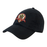 Black Twill Unstructured Low Profile Hat-Alumni Association