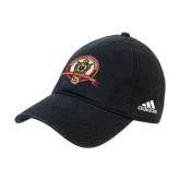 Adidas Black Slouch Unstructured Low Profile Hat-Alumni Association