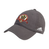 Adidas Charcoal Slouch Unstructured Low Profile Hat-Alumni Association