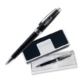 Cross Aventura Onyx Black Ballpoint Pen-Official Logo Engraved