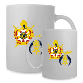 Full Color White Mug 15oz-Shriners DeMolay